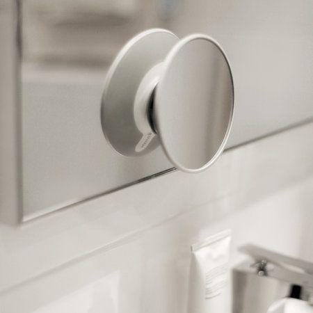 Spegel med förstoring, sugpropp/magnet
