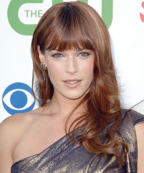 Amanda Righetti langen geraden Haar - Light Red - http://www.frisurenz.com/amanda-righetti-langen-geraden-haar-light-red/