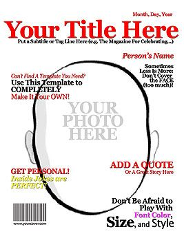Free Magazine Cover Templates. tech magazine cover template ...