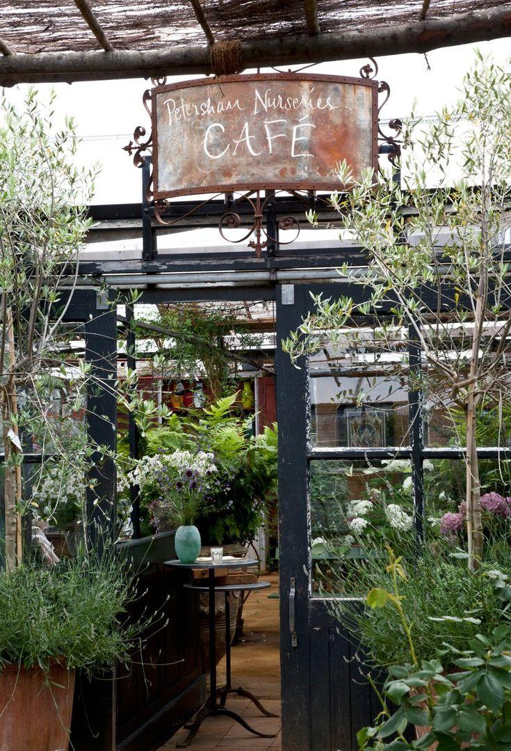 A Non Touristy First Timer S Guide To London Garden Cafe Cafe Design Petersham Backyard garden healthy drinks cafe