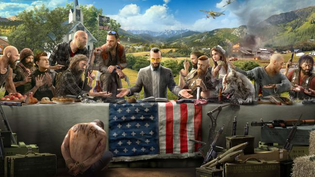 'Far Cry 5' Trailer: The New 'Far Cry' Game Is About Fighting Against A Batshit-Crazy Doomsday Cult In Montana - http://viralfeels.com/far-cry-5-trailer-the-new-far-cry-game-is-about-fighting-against-a-batshit-crazy-doomsday-cult-in-montana/