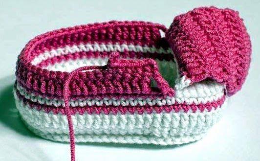 tejidos artesanales en crochet: como tejer zapatitos en crochet paso a paso