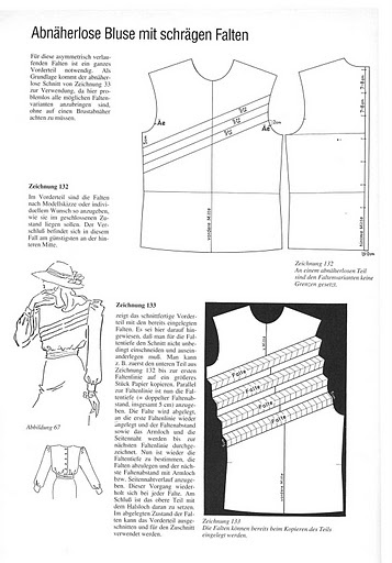 Schnittkonstruktionen-blusas