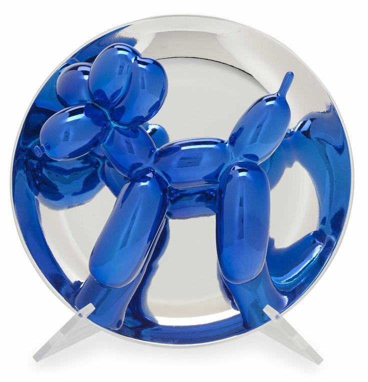 Jeff  Koons, Blue Balloon Dog