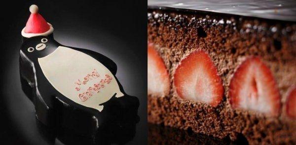 「Suica のペンギン」をかたどったクリスマスケーキが、ホテルメトロポリタン(東京・池袋)で販売される。12月15日まで予約を受け付けている。