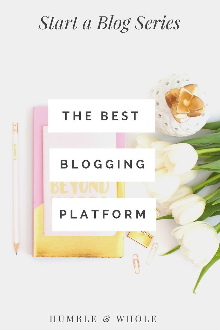 Are you ready to start a blog, but wondering which platform is the best for you? Click through to find out the hands-down best blogging platform for new bloggers.