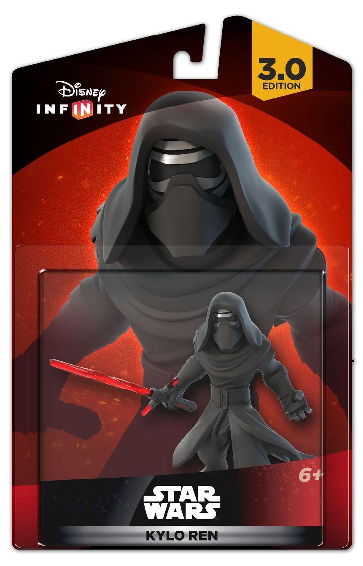 Star Wars: The Force Awakens Disney Infinity 3.0 Kylo Ren figure.