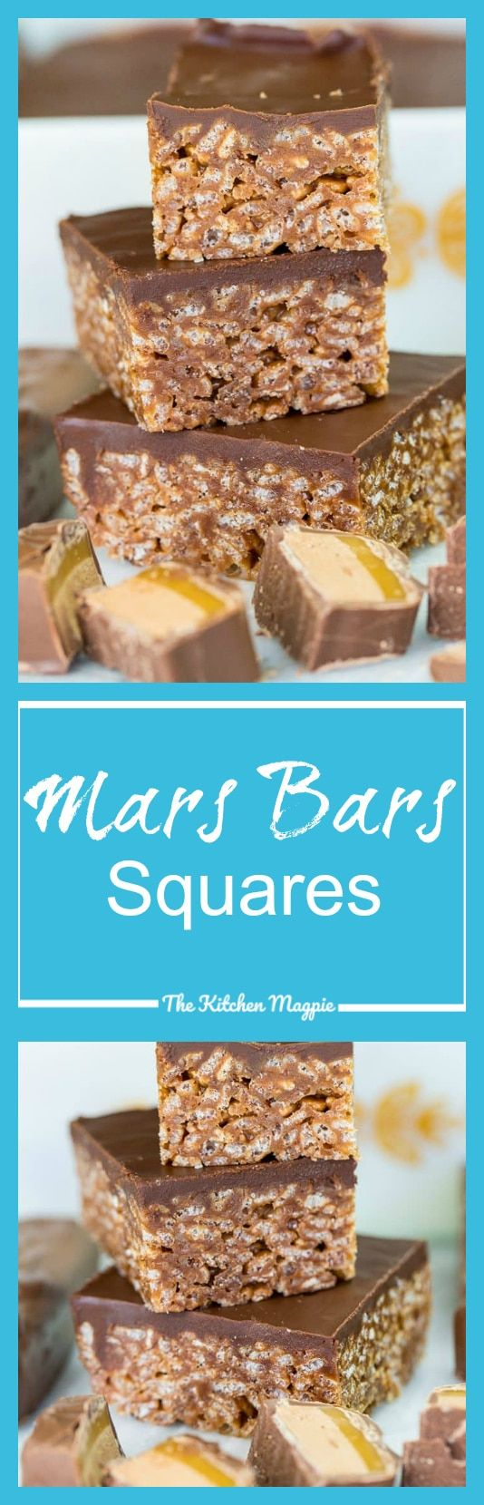 Mars Bars Squares - The Kitchen Magpie