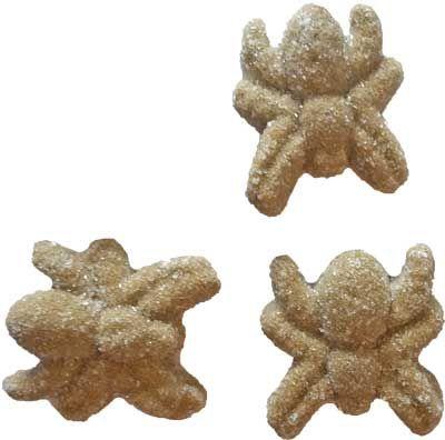 10 lekkere griot #spinnen snoepjes. Deze lekkere enge snoepjes zijn leuk bij een Halloween thema. Je kunt ze als smakelijke decoratie gebruiken op een feest tafel, als decoratie op een taart of cupcake of natuurlijk als #traktatie in een leuk #halloween uitdeelzakje!