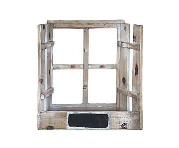 Ящик для хранения /кашпо - дерево - коричневый, 28х11х30 см
