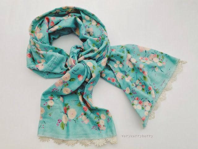 verykerryberry: Thankyou with a Simple Scarf
