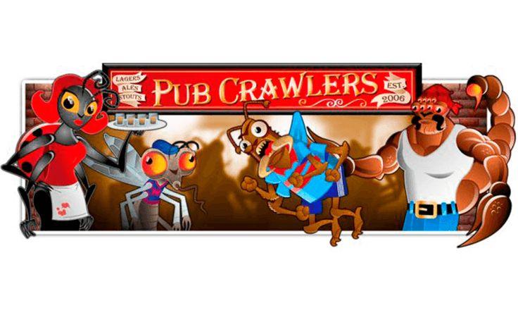 Çekirgeler ve akreplerle dolu bir bara gitmek ister misiniz? Pub Crawlers Rival şirketinden gelen 5 çarklı ve 20 ödeme çizgili olan slot oyunudur. Oyunda içki içen, servis yapan, dans eden çekirgeler kazanmanızı sağlarlar. Bu eğlenceli oyunun size keyifli saatler geçirteceğini garanti ediyor.