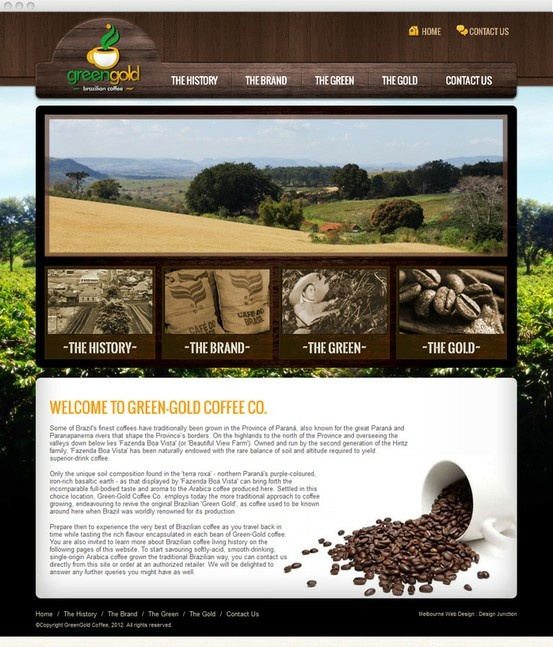 Since 1960, Green Gold Coffee have produced naturally-flavoured, traditionally grown coffee.
