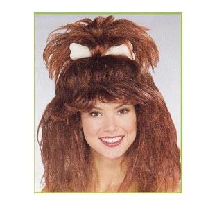 Cavewoman Wig with Bone