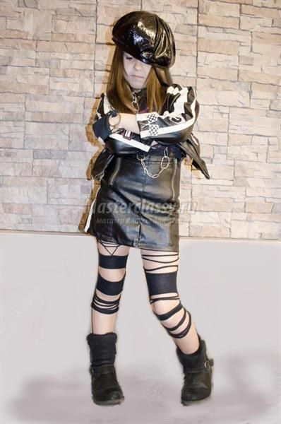 Костюмы рокеров для девочки рокеры