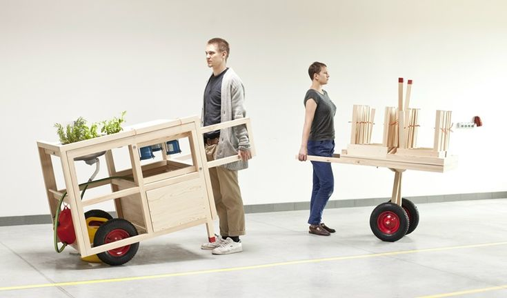 """""""Homeless furniture"""": when design goes nomad"""
