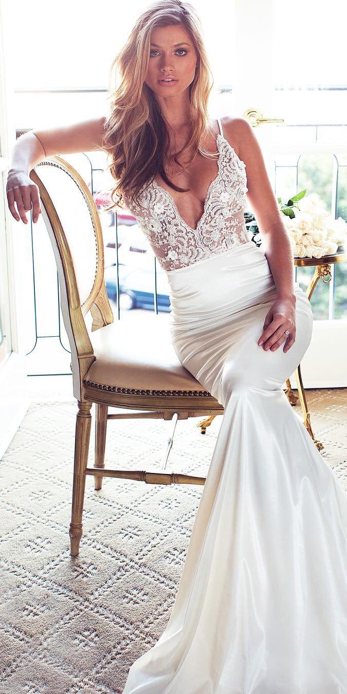 24 Excellent And Elegant Silk Wedding Dresses 11 Pinterest Bridal