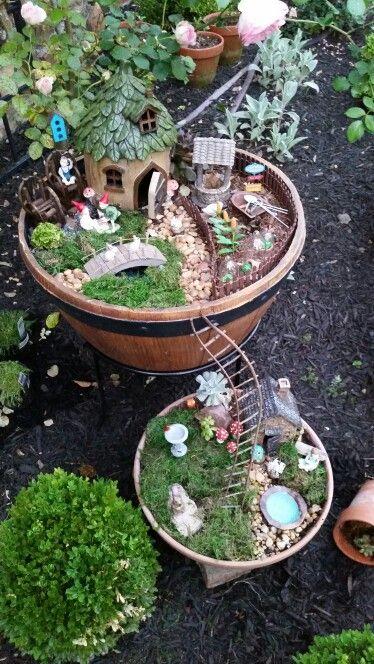25+ Unique My Fairy Garden Ideas On Pinterest