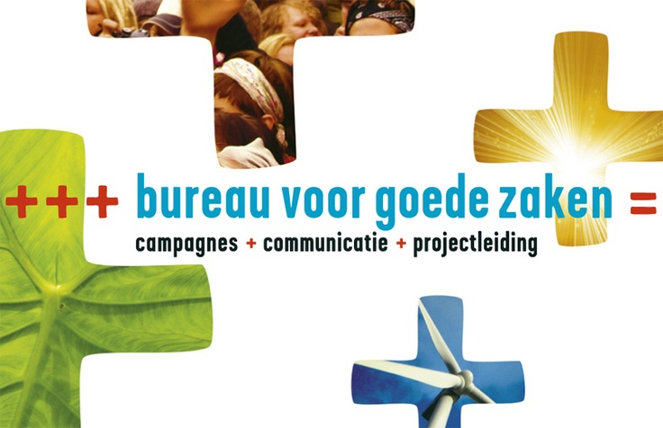 Corporate identity Bureau for Goede Zaken: business card