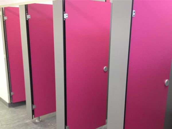 Pink Volante cubicles