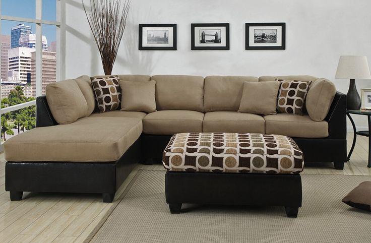 attractive beautiful brwon casablancar simple sofas l shaped sofas