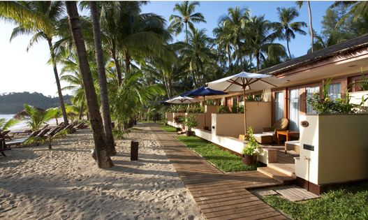 The name (Bay View) speaks for itself really. A bungalow, on the beach, palm trees, ocean, the sun - very camera worthy. And makes getting up in the morning that bit easier, don't you think?   http://www.clevelandcollection.co.uk/hotels/ngapali-beach/bayview-beach-resort
