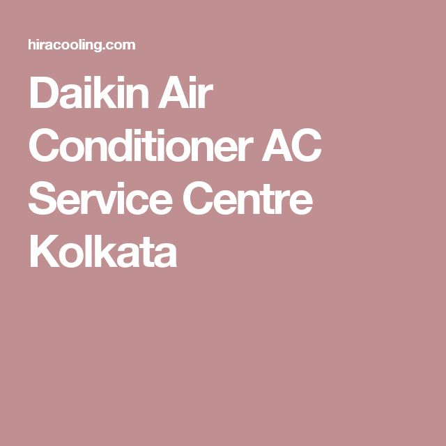 Daikin Air Conditioner AC Service Centre Kolkata
