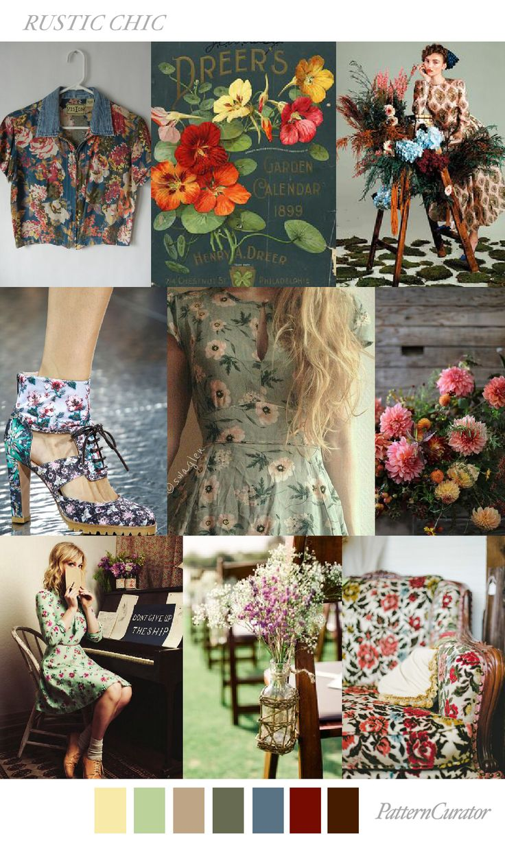 RUSTIC CHIC by PatternCurator