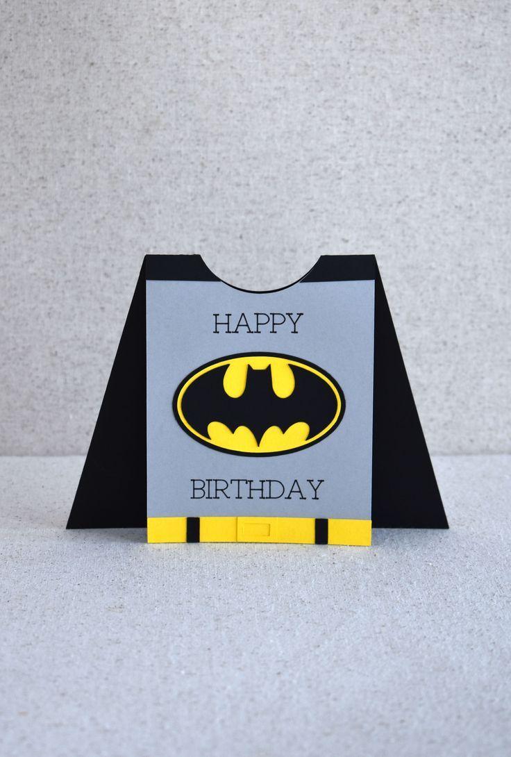Superhero Card With Cricut Cricut Birthday Cards Birthday Cards For Boys Kids Birthday Cards