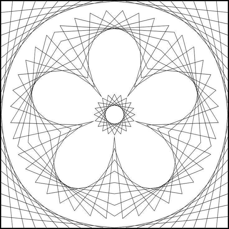 Free String Art Pattern to Print