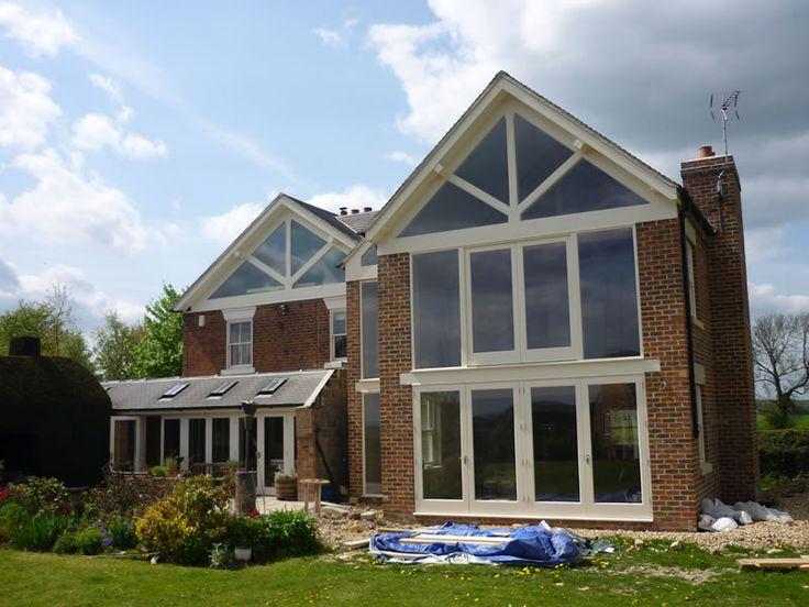 extending house gable end - Google Search
