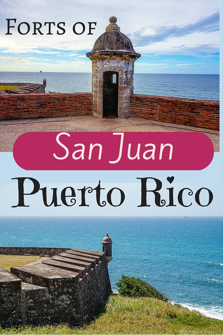 Planning travel to San Juan, Puerto Rico? These beautiful and historic forts on the ocean are not to be missed!