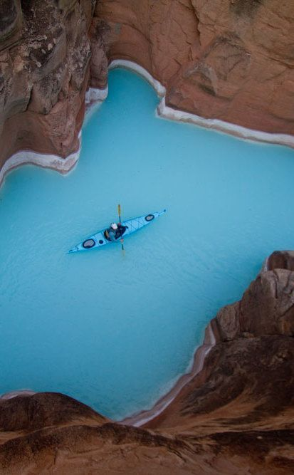 Havasu Creek | Travel | Vacation Ideas | Road Trip | Places to Visit | Havasupai Indian Reservation | AZ | Scenic Point | Natural Feature
