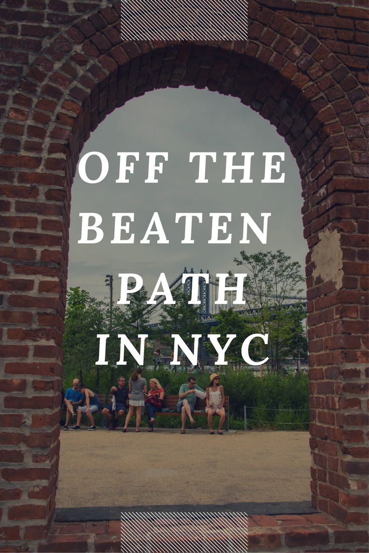 Want inspiration for things to do in NYC? Go beyond the main tourist sights and see these top 10 destinations that are off the beaten path.