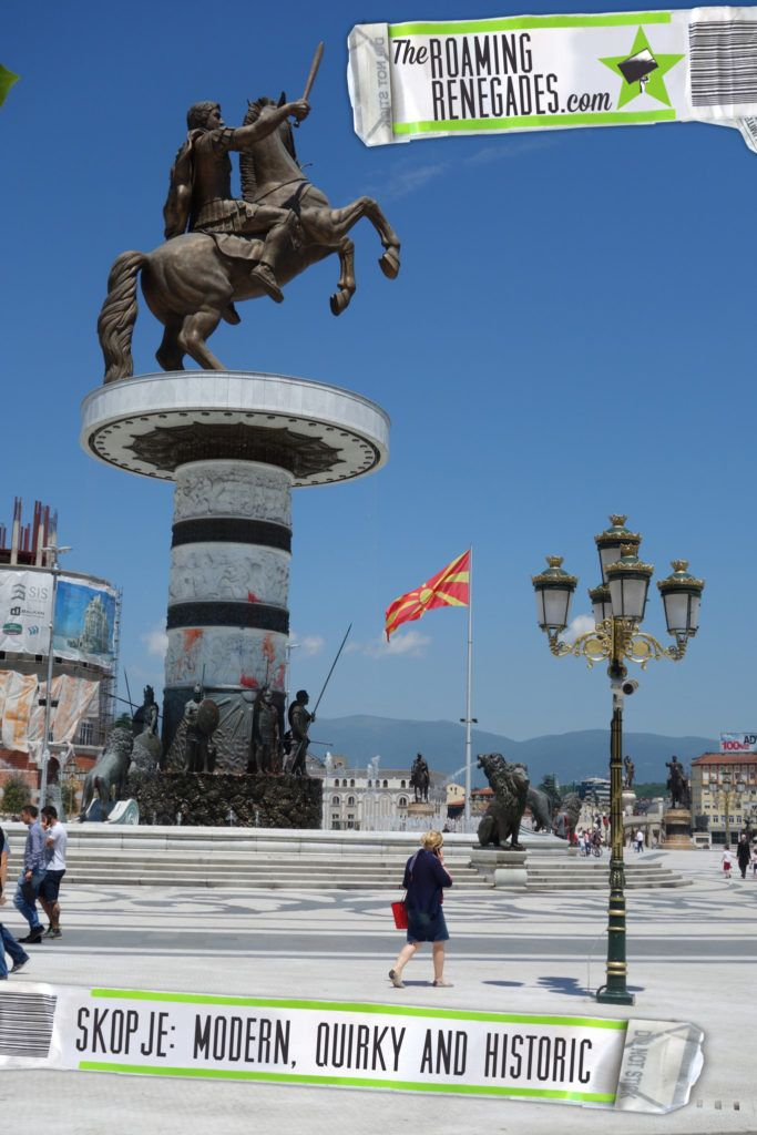 A guide to Skopje: The modern, quirky & politically charged Macedonia capital with hidden history > http://theroamingrenegades.com/2016/08/a-guide-to-skopje-the-modern-quirky-politically-charged-macedonia-capital-with-hidden-history.html