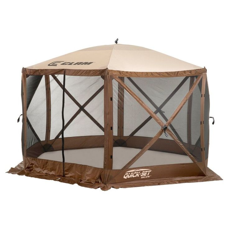 Clam Outdoors Quick Set Escape Screen Shelter