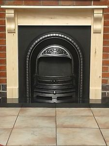 Pine Fire Surround with Corbels / Pine Mantel / Plus Made To Measure. | eBay