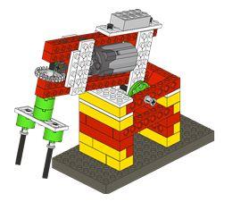mixer and others Not Just Bricks: WeDo Máquinas / Machines
