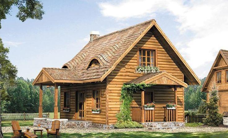 Проект двухэтажного дома 6 на 9 с мансардой