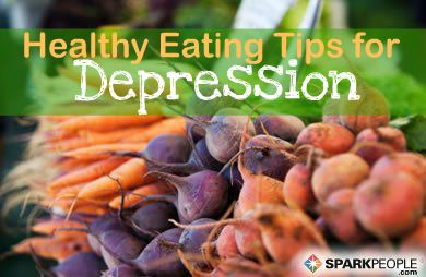 Diet Do's and Don'ts for Depression: The Link between Food & Mood | via @SparkPeople