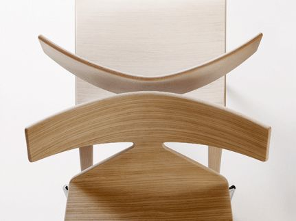 Saya chair detail by Lievore Altherr Molina