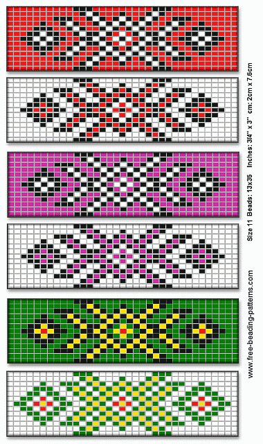 native american beading patterns | barrette-for-native-american-beadwork-group-of-6a