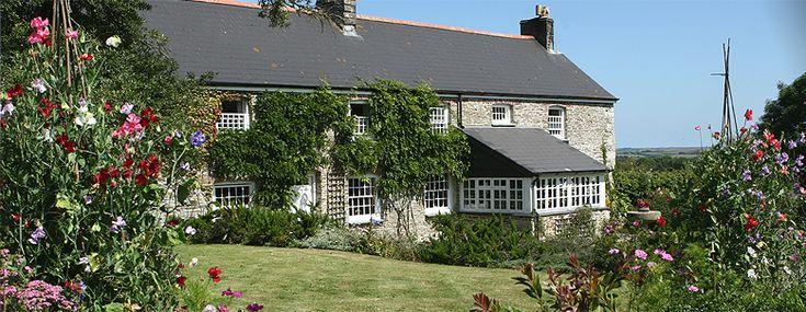 Bodrean Manor Farm, B&B, Cornwall, England