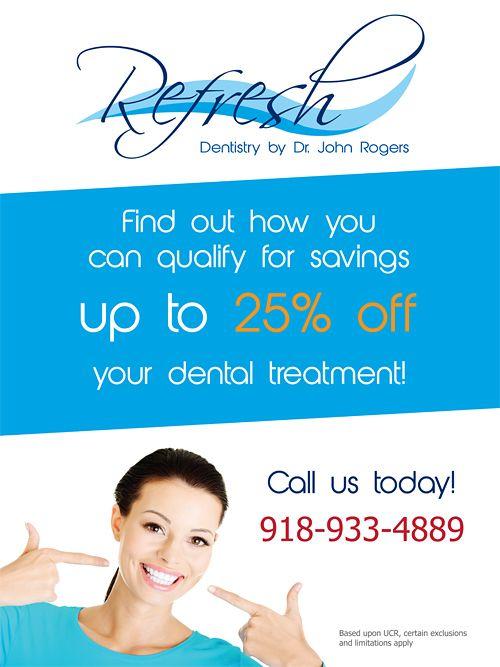 Dentist flyer design http://orimega.com/graphic-designs/