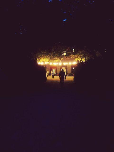 Evening atmosphere. Munich, Germany