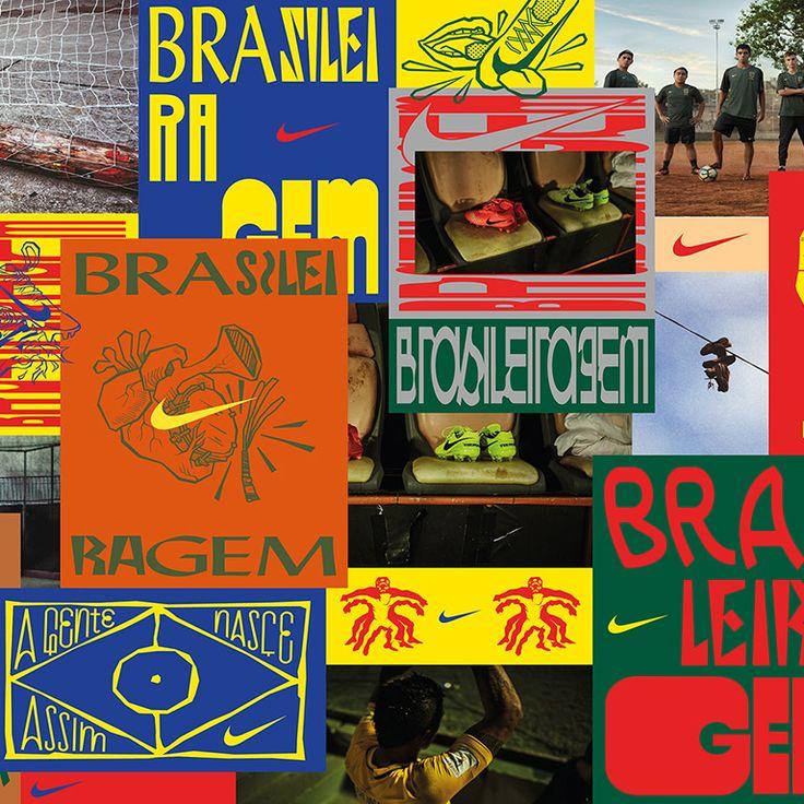BRASILEIRAGEM VISUAL IDENTITY, 2018, Nike, Wieden+Kennedy