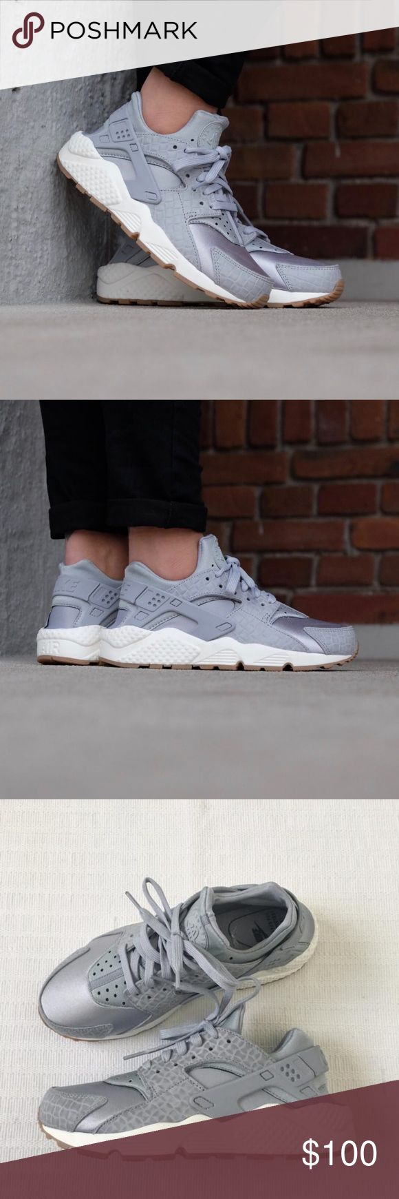 Women's Nike Huarache Run Premium Running Shoes Women's Nike Huarache Run Premium Running Shoes is the perfect sneaker for your everyday activities. Style/Color: 683818-012  • Women's size 9  • NEW in box (no lid) • No trades •100% authentic Nike Shoes Sneakers