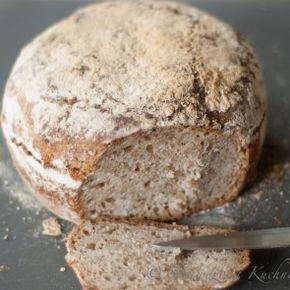 Chleb rustykalny - przepis | Sprawdzona Kuchnia