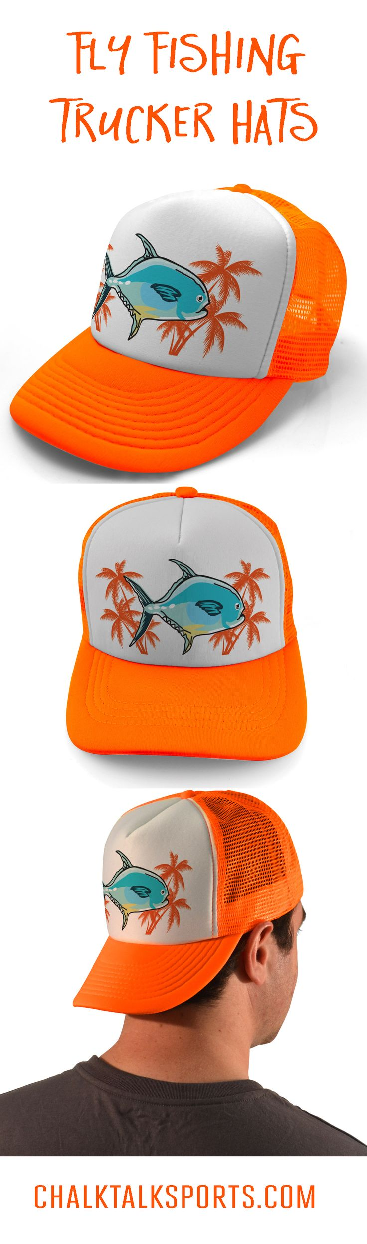 Tropic Permit Trucker Hat Available In Multiple Color Options Fly Fishing Hats Perfect For Hot Days On Sandy Flats Or Just About Anywhere