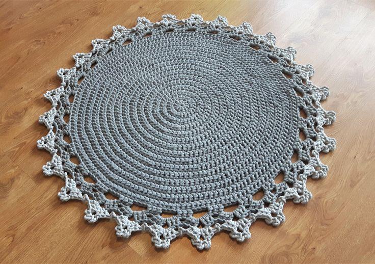 dywan na szydełku
